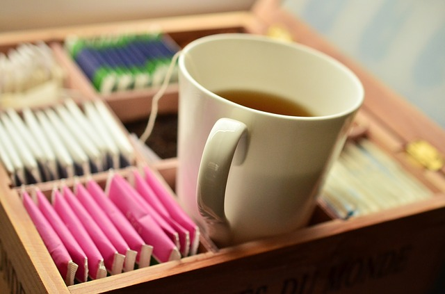 krabička čajů