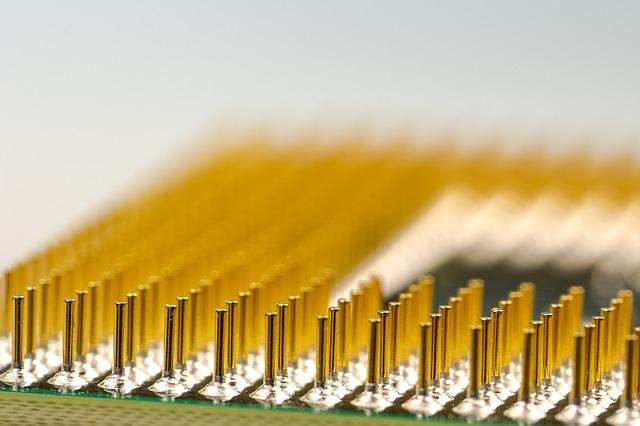 kolíky procesoru