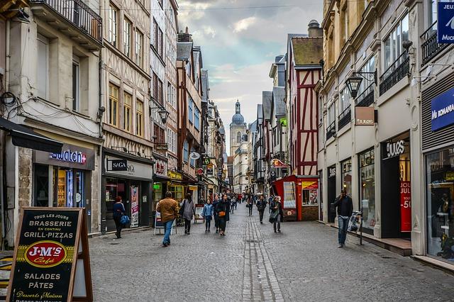 ulice cestovního ruchu